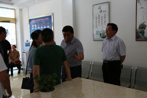 云南省高院深入盐津县法院开展审务督察
